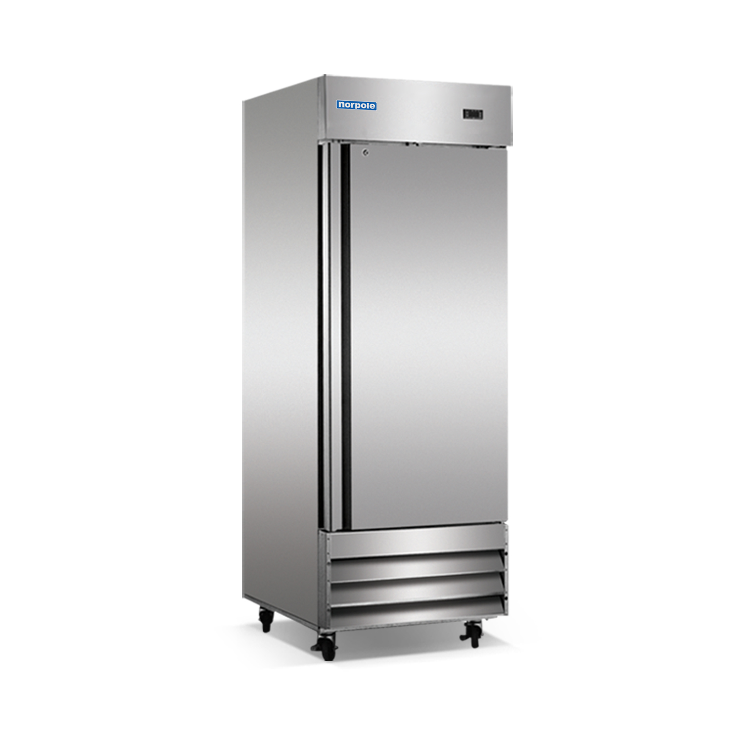 Norpole Np1r 1 Solid Door Up Right Reach In Refrigerator