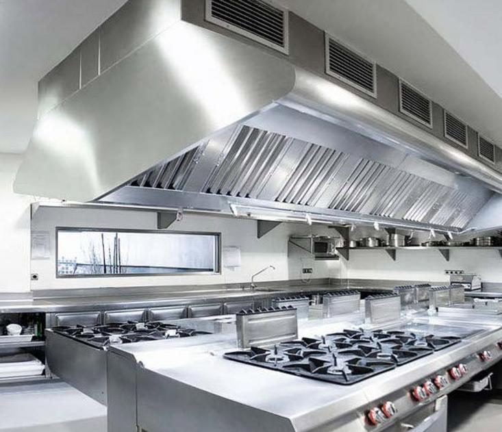 Exhaust hood system design quality restaurant equipment for Pare vent interieur decoration