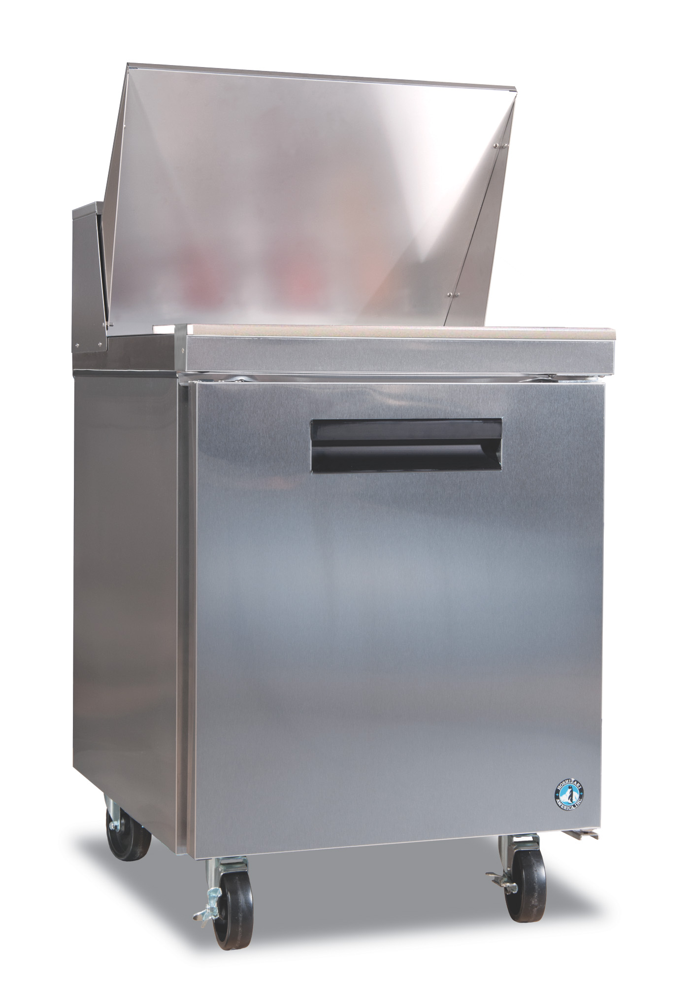 Hoshizaki CRMR Refrigerator Single Section Sandwich Top Prep - Commercial prep table refrigerator