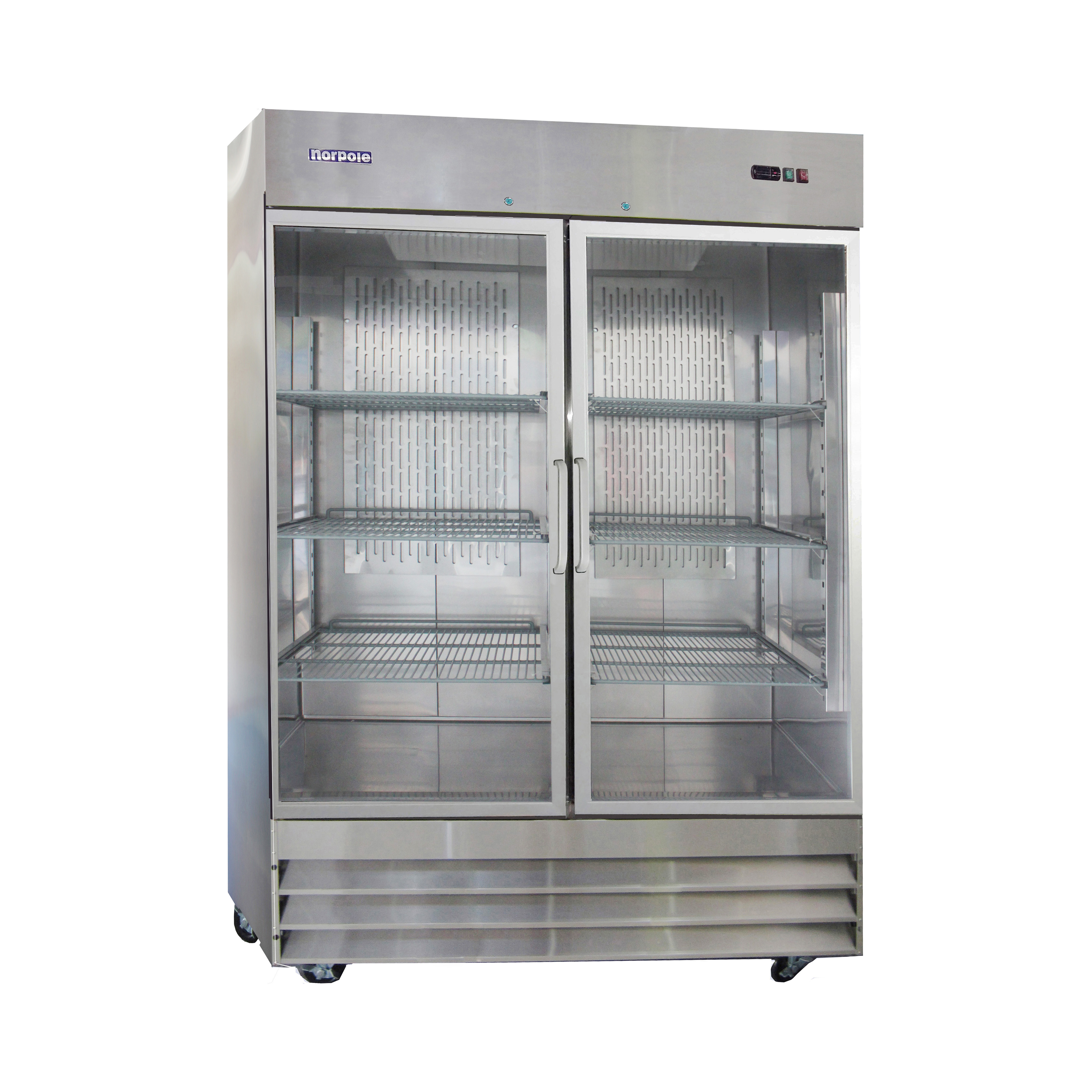 Norpole Np2r G 2 Glass Door Up Right Reach In Refrigerator Quality