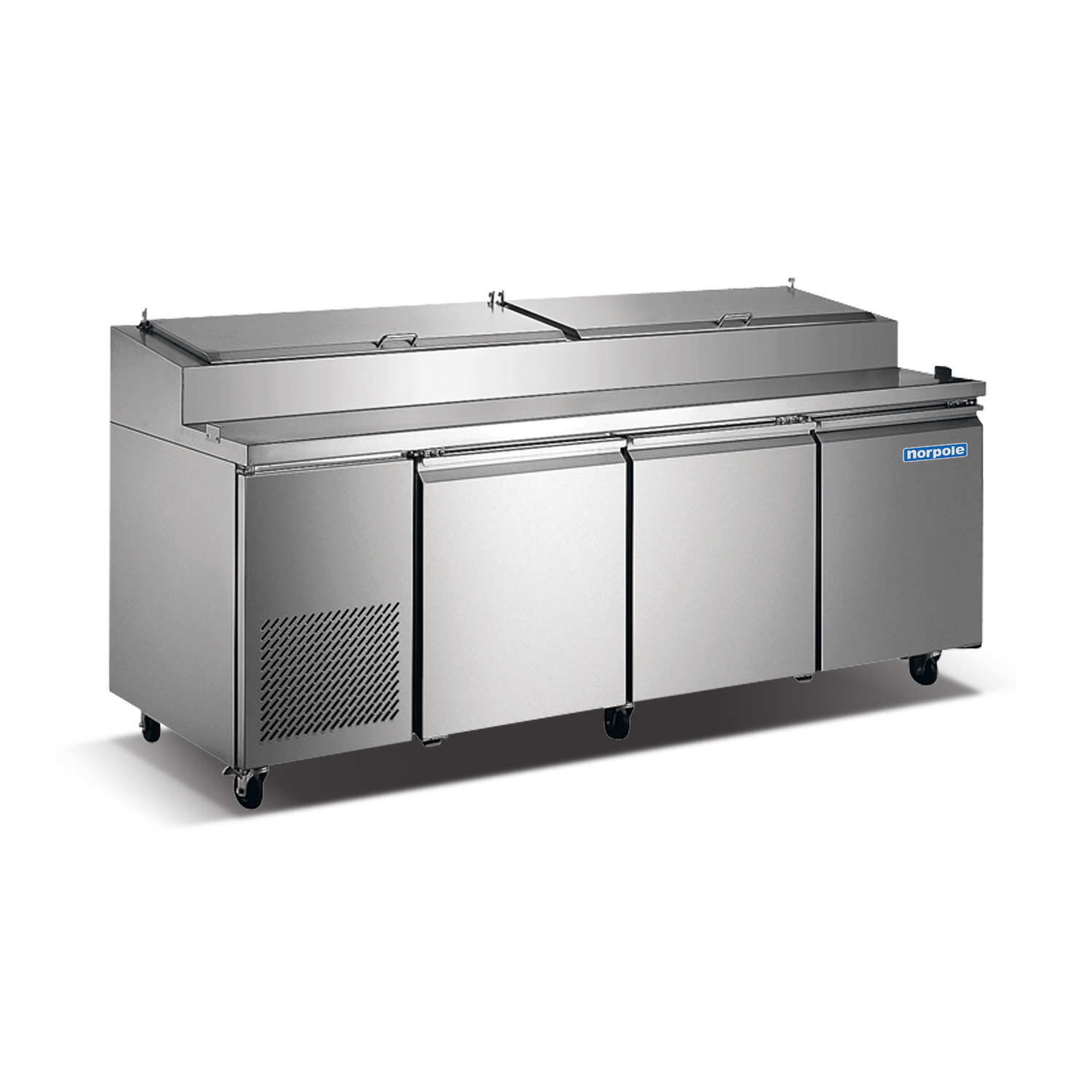 Norpole Np3r Pt 3 Door Pizza Prep Table Quality